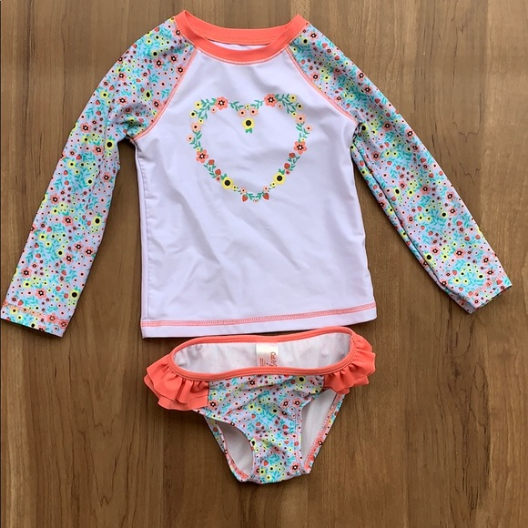 Girl Pink Lace Flower Jacket White Long Sleeve Pink One Piece Dress  1-5Y SH39